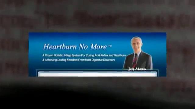 Heartburn No More Review – Real Heartburn No More System