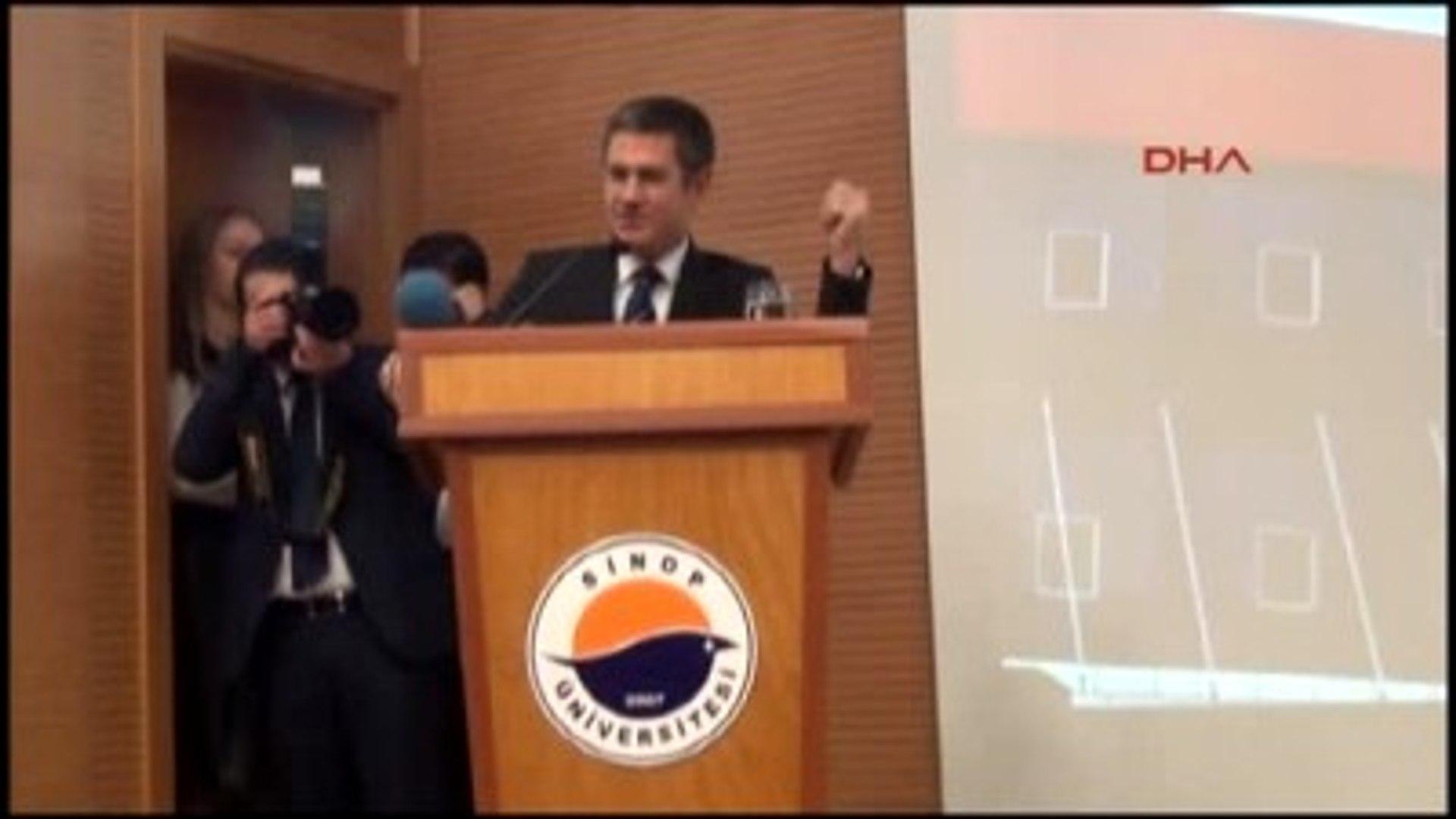 Sinop Bakan Canikli, Sinop'ta Yüksekokul Açılışına Katıldı Ek Görüntü