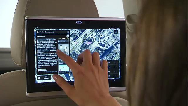Audi Q7 – Audi tablet