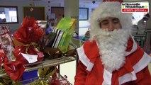VIDEO. Poitiers : le père Noël est passé au CHU