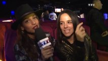 [HD] Alizée & Tal - Music Awards - Coulisses (14/12/13)