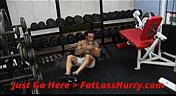 Dumbbell Abs Workout  Easy Dumbbell Abs Workout To Get Six Packs