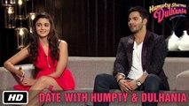 Date with Humpty & Dulhania | Karan Johar, Varun Dhawan, Alia Bhatt | Humpty Sharma Ki Dulhania