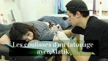 Les coulisses d'un tatouage avec Matik et Juliette