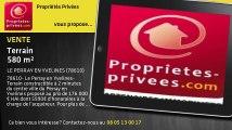 A vendre - terrain - LE PERRAY EN YVELINES (78610) - 580m²