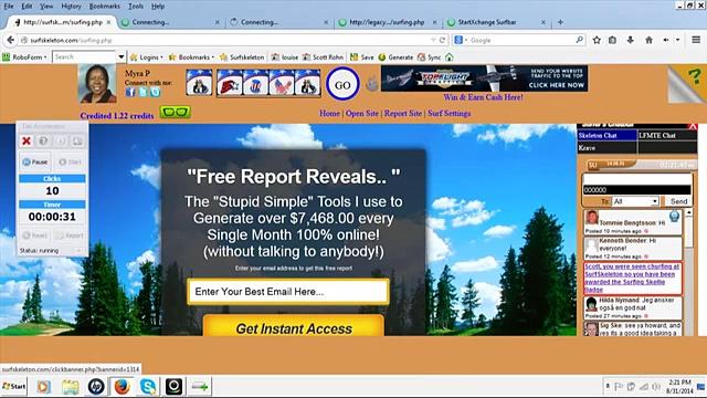 Scott Rohn's Tab Accelerator Traffic Exchange Software Review