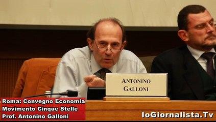 Euro dentro o fuori: convegno 5 Stelle, Prof. Galloni
