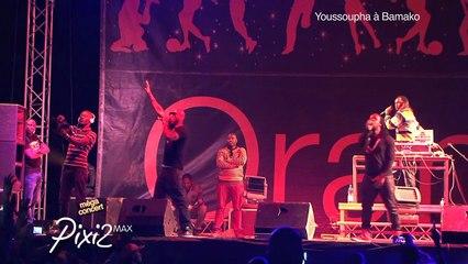 EXCLU Youssoupha Live - Dreamin' - Concert Bamako 20 décembre 2014