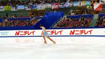 永井優香 Yuka Nagai - 2014 Japanese Nationals SP
