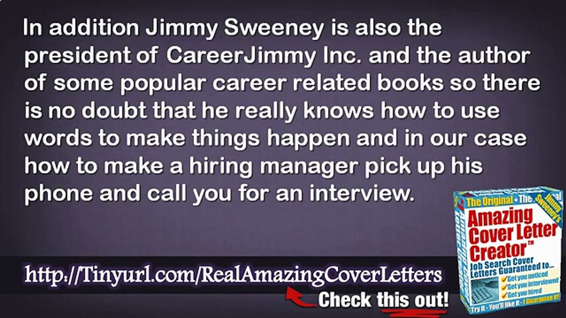 Amazing Cover Letters Secret Sentence And Great Cover Letters Resume