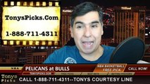 Chicago Bulls vs. New Orleans Pelicans Free Pick Prediction NBA Pro Basketball Odds Preview 12-27-2014