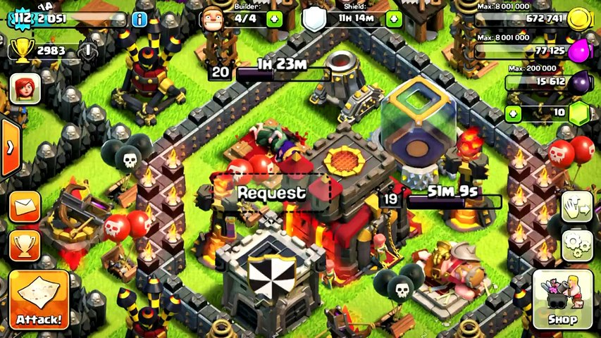 Clash of clans account for sale TH10 LVL 112