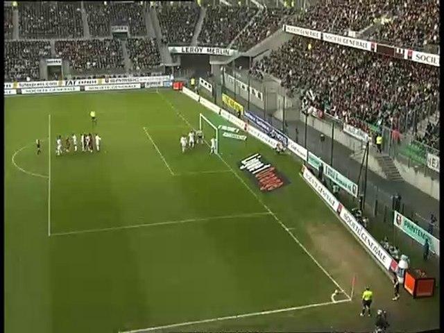 04/11/06 : Stéphane Mbia (13') : Rennes - Lyon (1-0)
