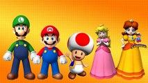 Super Mario Cartoon Finger Family Rhymes | Finger Family Nursery Rhymes | Finger Family