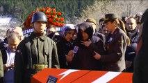 Şehit Astsubay Başçavuş Halit Avcı'nın Cenaze Töreni