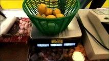 Contrôle des balances alimentaires sur le marché de Valréas