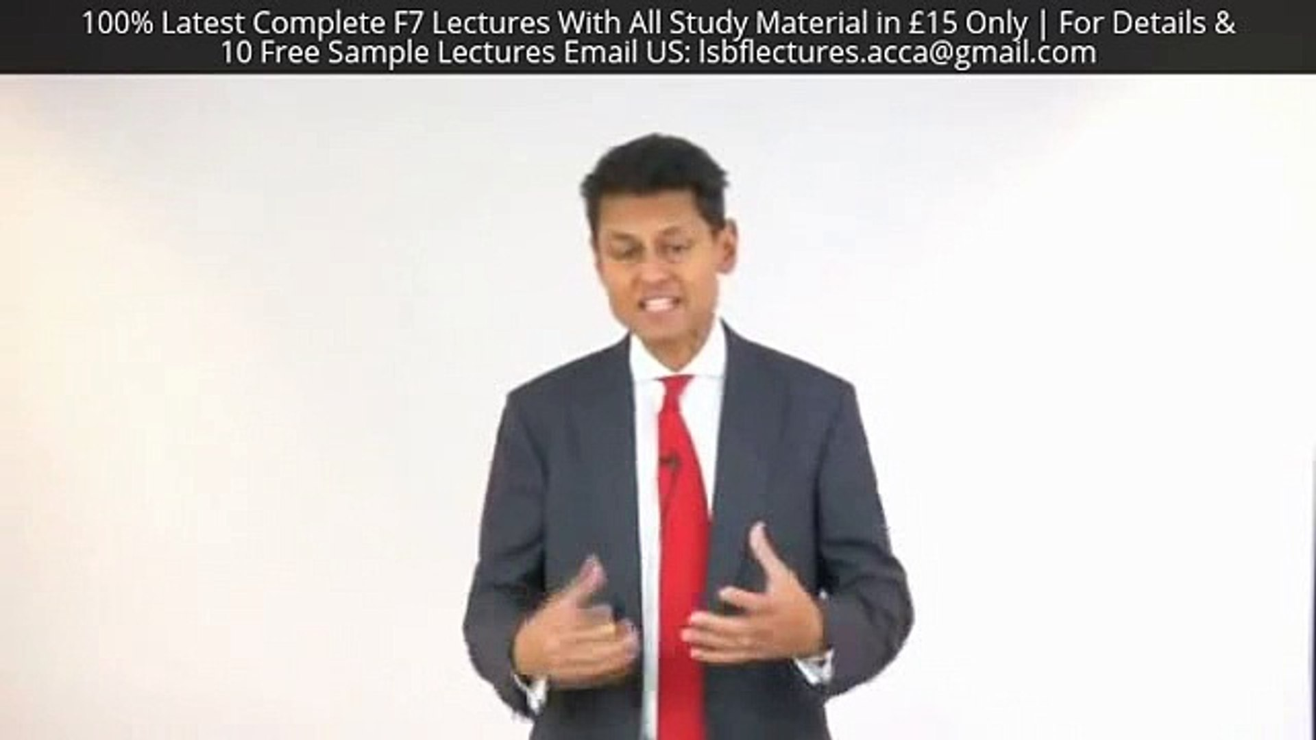 LSBF Latest F7 Lectures