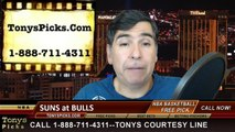 Chicago Bulls vs. Phoenix Suns Free Pick Prediction NBA Pro Basketball Odds Preview 2-21-2015
