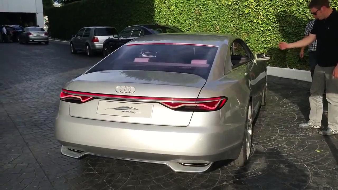 Audi Prologue Sound !!! Audi A9 Sound