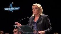 """Marine le Pen : """"BHL est ministre des Affaires étrangères UMPS depuis presque une décennie"""""""