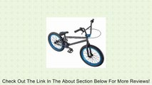 Eastern Bikes Chief BMX Bike (Matte Black with Blue, 20-Inch) Review