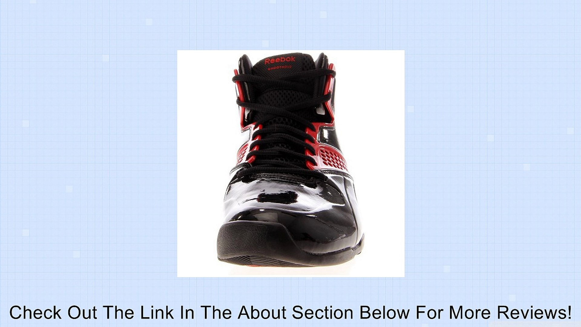 Reebok Still Talking Black/Red Basketball Shoes men's 7.5 Review
