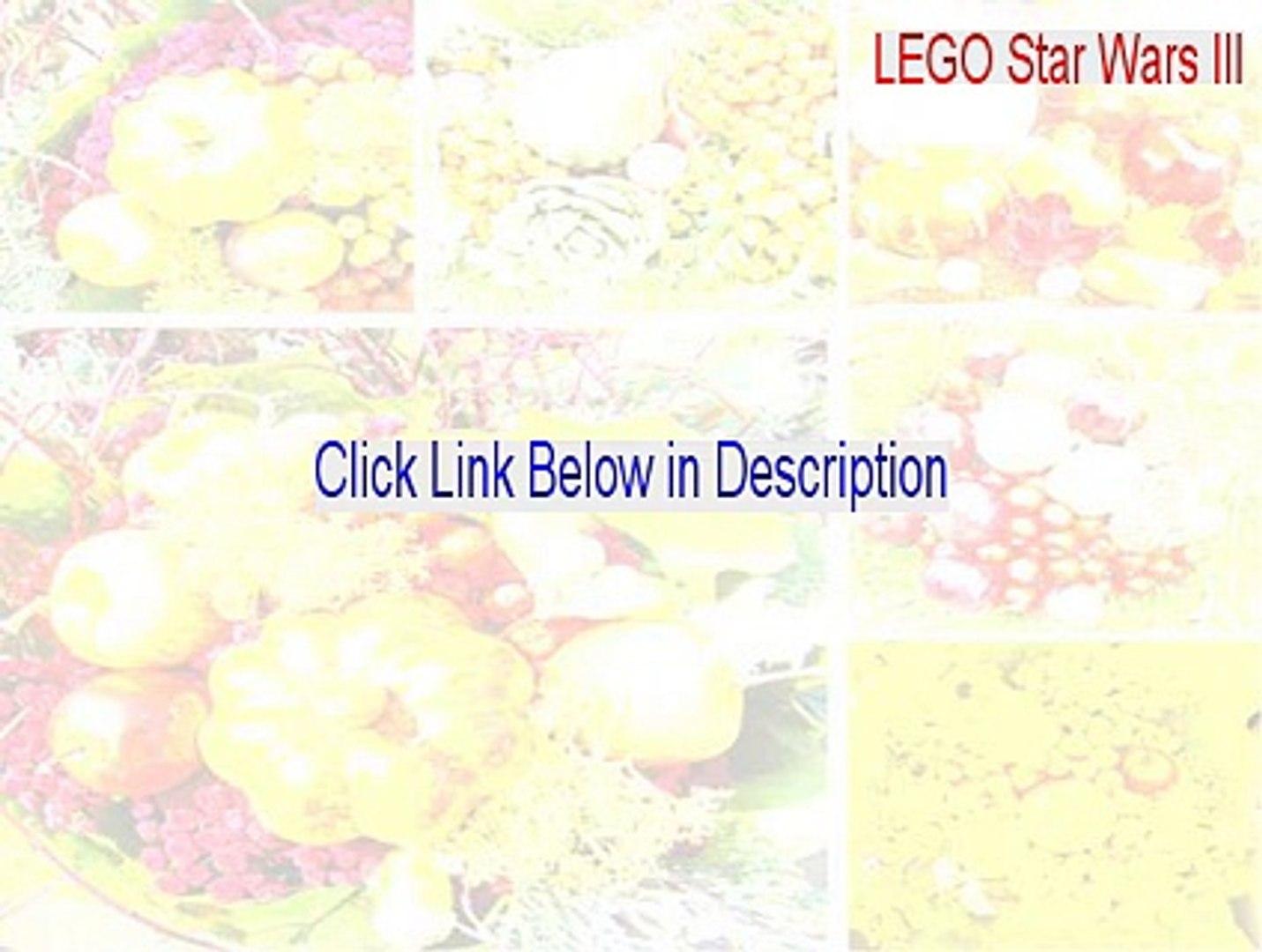 LEGO Star Wars III: The Clone Wars Key Gen (lego star wars iii review)