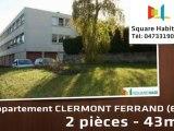 A vendre - Appartement - CLERMONT FERRAND (63000) - 2 pièces - 43m²