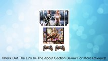 Final Fantasy Q Skin Sticker PS3 PlayStation 3 Super Slim with 2 Controller Skins Review