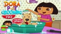Dora l'exploratrice jeu - animal Dora jeu de toilettage pour les enfants - Jeux gratuits en ligne