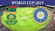 2015 WC IND vs SA Virat Kohli ready to destroy SA