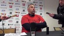 Rugby Top 14 - Christophe Urios réagit après Oyonnax - Castres (2e partie)