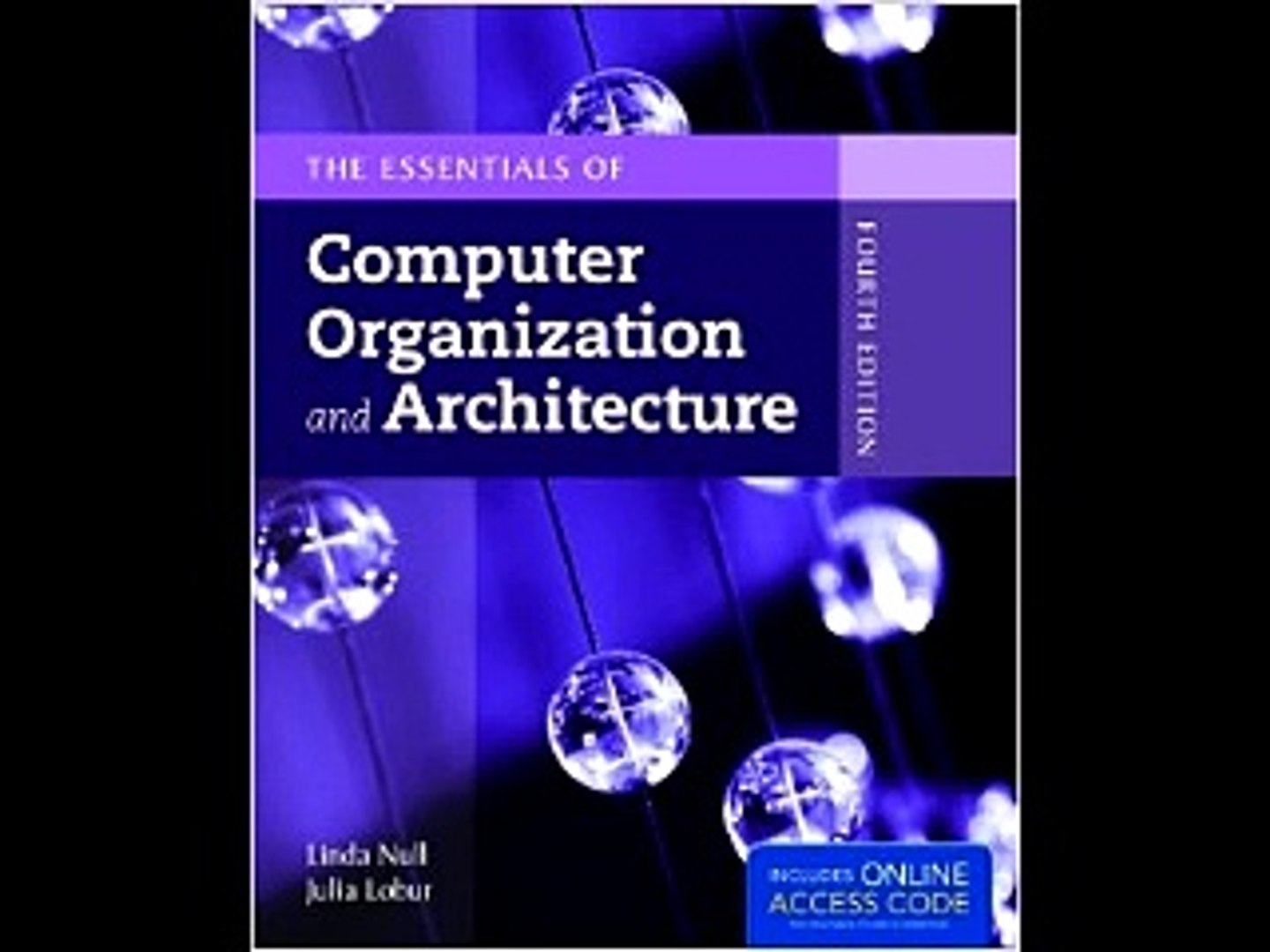 The Essentials Of Computer Organization And Architecture Linda Null Pdf Download Video Dailymotion