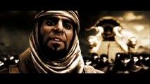 300 - Un Dieu Saigne [HD] (fr) - Leonidas blesse Xerxes