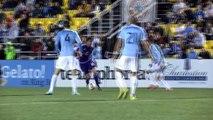 Kaka scores for Orlando v David Villa's New York