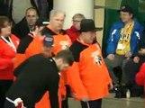 Floor Hockey Medal Ceremony - 2015 Special Olympics Alberta Winter Games