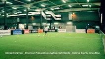 Séance de préparation physique individuelle en football par Optimal Sports consulting