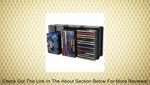 Atlantic 36635731 Domino Disc Storage Module 45 CD/21 DVD, Black Review