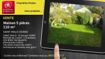 A vendre - maison - SAINT MALO (35400) - 5 pièces - 110m²