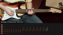 By The Way - Red Hot Chili Peppers (guitar lesson - aula de guitarra)