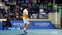 Novak Djokovic vs Stanislas Wawrinka Mubudala World Championships SF 2.1.2015