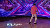 Jimmy Cheung sings Luciano Pavarotti's O Sole Mio   Room Auditions Week 1   The X Factor UK 2014