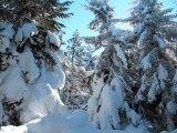 Trois jours de randonnée en raquettes aux confins de la Haute Ardèche