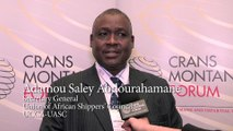 ADAMOU SALEY ABDOURAHAMAN - Crans Montana Forum (Jean-Paul Carteron) - Club des Ports