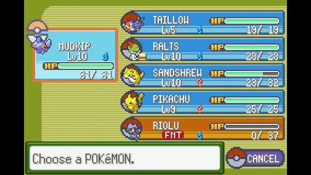 Sinopsys joue à Pokémon Glazed (28/12/2014 05:39)