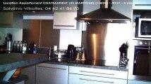 A louer - appartement - CHATEAUNEUF LES MARTIGUES (13220) - 2 pièces - 40m²