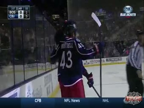 Bruins vs Blue Jackets 12/27/14