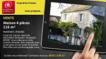 A vendre - maison - MARINES (95640) - 4 pièces - 116m²