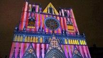 fêtes de lumières 2014 - spectacle à la cathédrale Saint-Jean de Lyon