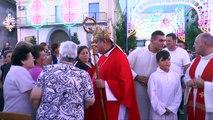 Carinaro (CE) - Festa di S.Eufemia 2014,il cardinale Sepe Celebra la messa (16.09.14)